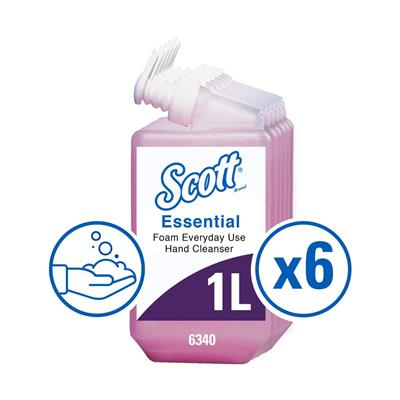KC habszappan, Luxus, 6x1000 ml, pink
